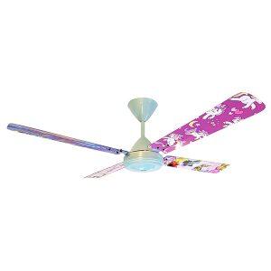 Novelty-Fan-Motor-Blue-Slate-Blade-Aluminium-4-1200mm-Unicorn-Peacock-Dreamcatcher-Butterflies